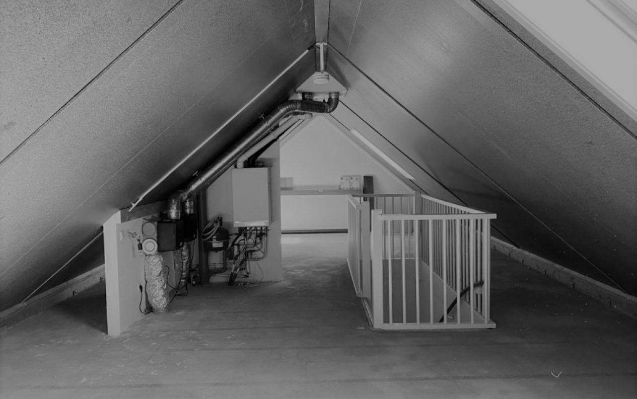 Indeling en interieur zolderkamer Amersfoort