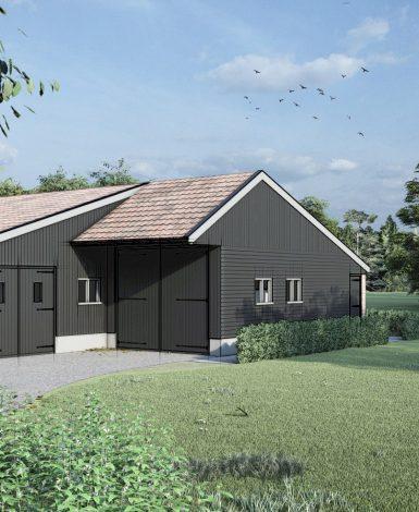 Nieuwbouw bijgebouw Langbroek