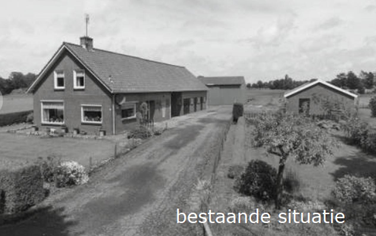 Langgevelboerderij uit 1969 te Barneveld